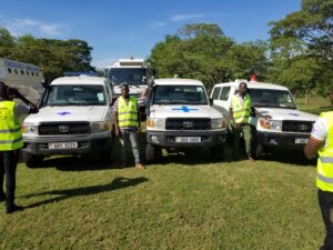 Trained Team of Ambulance Driver